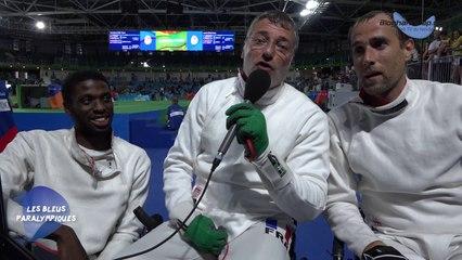 Epée par équipe - Médaille d'or - Jeux Paralympiques Rio 2016