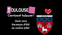 """Toulouse août 2015. Jeux d'eau pour """"sans abri"""" (Hd 1080p60))"""
