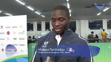 Moussa Tambadou - Finale du saut en longueur T38 - 6ème - Jeux Paralympiques