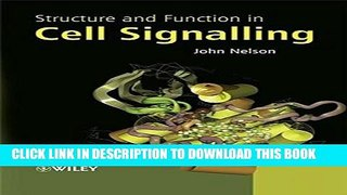 [PDF] Structure and Function in Cell Signalling Popular Online