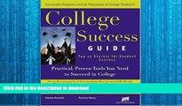FAVORITE BOOK  College Success Guide: Top 12 Secrets For Student Success  PDF ONLINE