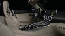 Mercedes-Benz Mercedes-AMG GT C Roadster - Interior Design in Studio