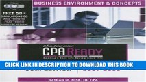 Collection Book CPA Ready Comprehensive CPA Exam Review - 36th Edition 2007-2008: Business