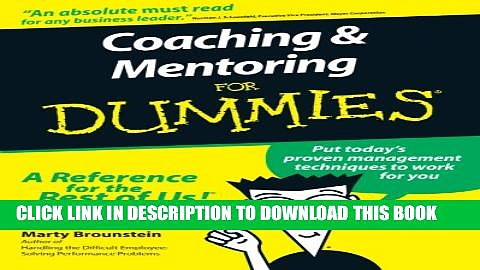 Collection Book Coaching and Mentoring For Dummies
