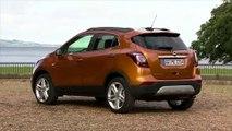 Opel MOKKA X in Amber Orange Design