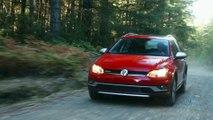 2017 VW Golf Alltrack Dirt Driving