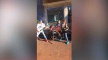 Metallica est fan de ces trois gamins qui jouent du métal