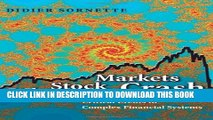 [PDF] Why Stock Markets Crash: Critical Events in Complex Financial Systems Full Colection