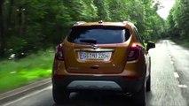 Opel MOKKA X in Amber Orange Driving Video