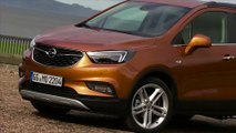 Opel MOKKA X in Amber Orange Exterior Design Trailer
