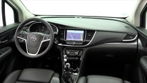 Opel MOKKA X in Amber Orange Interior Design Trailer