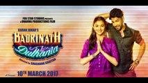 Alia Bhatt And Varun Dhawan's Kiss in Badrinath Ki Dulhania