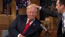 Jimmy Fallon décoiffe Donald Trump