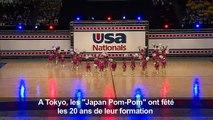 Japon: des pom-pom girls de 70 ans enflamment les gymnases
