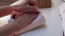 Laundry folding way - Comment bien Plier le linge