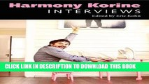 New Book Harmony Korine: Interviews (Conversations with Filmmakers Series)