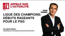 Ligue des Champions : débuts rageants pour le PSG
