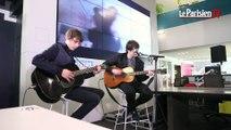 Jake Bugg chante « On My One » en live au Parisien