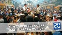 L'Oktoberfest, la fête de la bière de Munich, ouvre ses portes