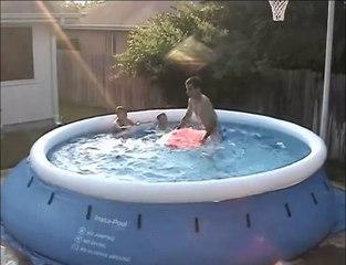 Comment faire des vagues avec une piscine de jardin