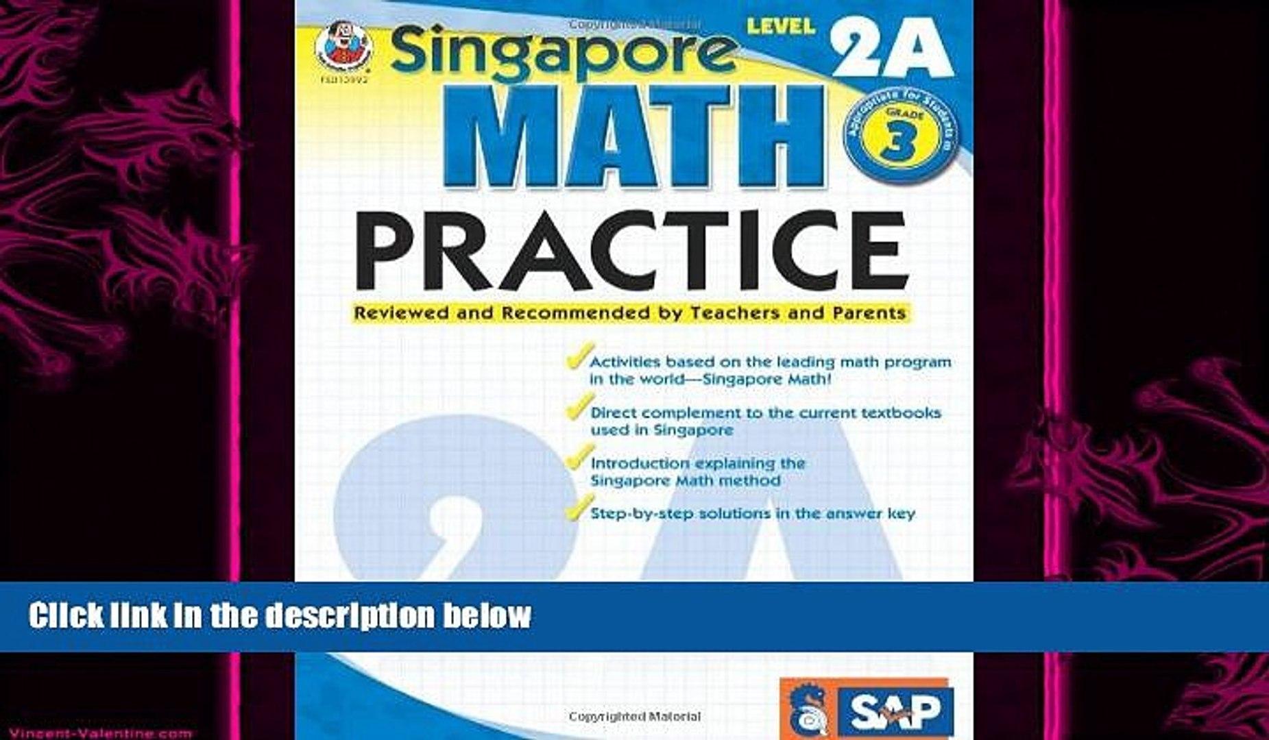complete Singapore Math Practice, Level 2A, Grade 3