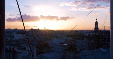 Paris Sunset - Timelapse (Public Domain)-HD