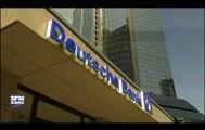 Deutsche Bank encourt jusqu'à 14 milliards de dollars d'amende