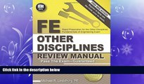 different   FE Other Disciplines Review Manual