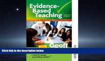Enjoyed Read Evidence-Based Teaching A Practical Approach Second Edition