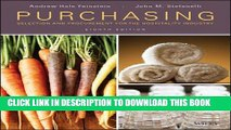 New Book Purchasing: Selection and Procurement for the Hospitality Industry