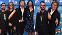 Ringo Starr and Paul McCartney cosy up to wives as they hit star-studded Beatles premiere