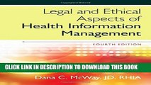 Collection Book Legal and Ethical Aspects of Health Information Management