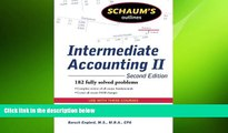 different   Schaum s Outline of Intermediate Accounting II, 2ed (Schaum s Outlines)