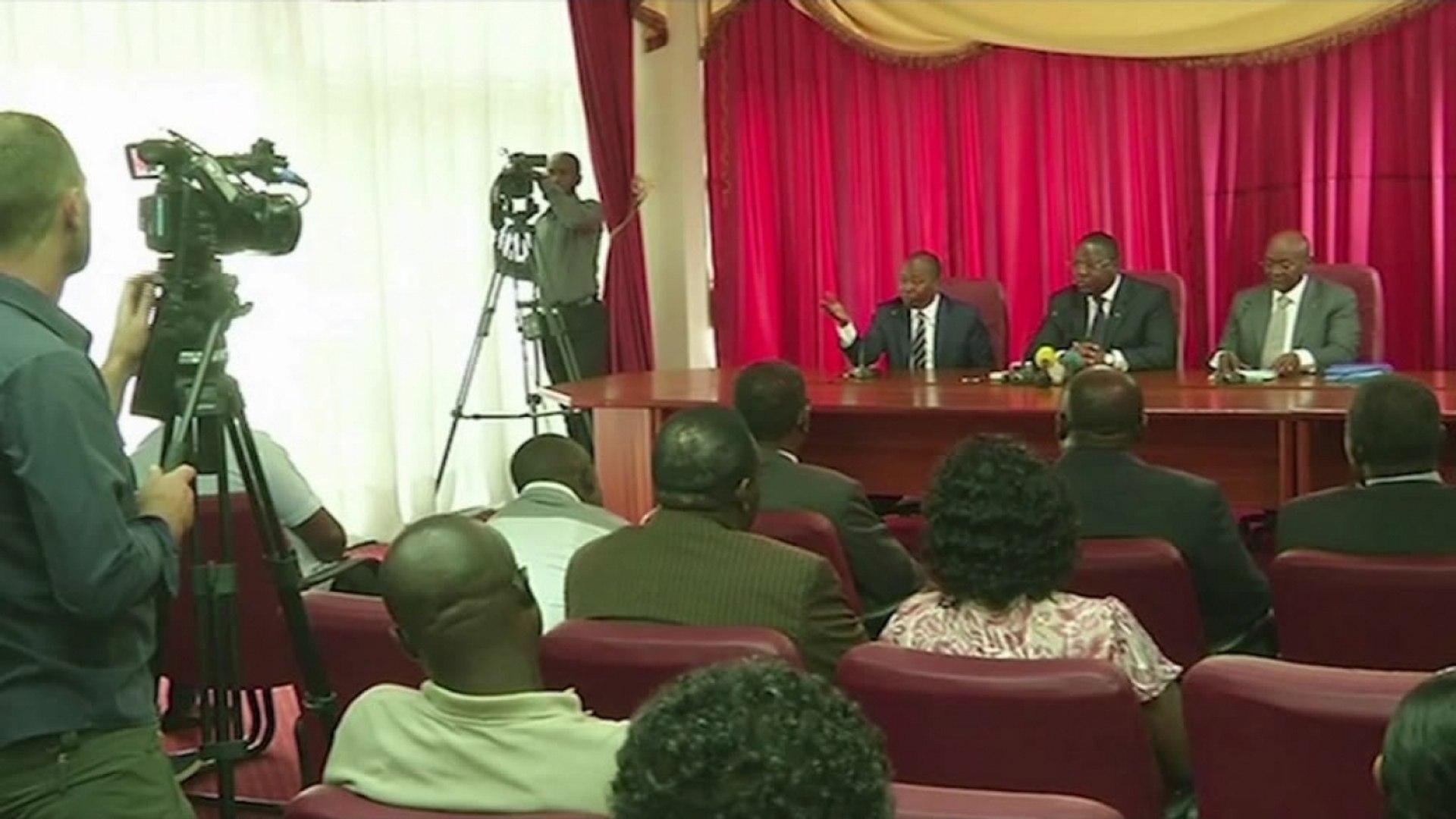 Gabon, Le gouvernement dénonce l'ingérence étrangère