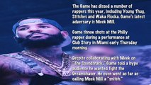 The Game Threatens Meek Mill and Calls Him A Snitch, Philly Rapper Reacts