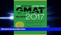 different   The Official Guide for GMAT Review 2017 with Online Question Bank and Exclusive Video