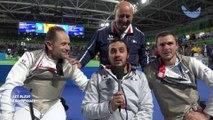 Fleuret par équipe - Médaille de bronze - Jeux Paralympique Rio 2016