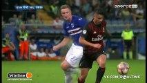 Сампдория - Милан 0-1. Обзор матча. Итальянская Серия А. 4 тур.