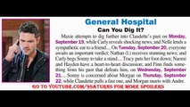 GH SPOILERS Carly Sonny Maxie Nathan Claudette Hayden Finn General Hospital Promo Preview 9-19-16