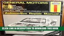 [New] General Motors Buick Regal, Chevrolet Lumina, Pontiac Grand Prix, Olds Cutlass Supreme: