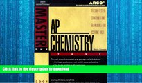 FAVORITE BOOK  Arco Master the Ap Chemistry Test 2001: Teacher-Tested Strategies and Techniques