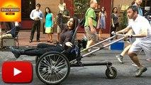 "Priyanka Chopra's ""Miss World Wave"" In A Rickshaw   Video   Bollywood Asia"