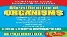 [PDF] Classification of Organisms: Common Core Lessons   Activities Full Collection