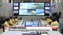 Strong typhoon Malakas expected to affect coastal areas of Korea and Japan