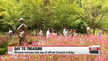 Koreans embrace Chuseok holiday by treasuring little moments with family