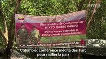 Colombie: conférence inédite des Farc pour ratifier la paix
