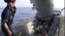 Ultimate Military Defense Weapons - CIWS Close In Weapon System Gatling Gun In Action