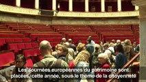 Journées du patrimoine: visite de l'Assemblée Nationale