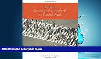 Choose Book Research Methods in Social Work, 6th Edition
