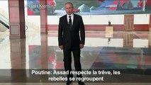"""Poutine: Assad respecte la trêve, les rebelles """"se regroupent"""""""